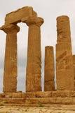Ruiny świątynia Concordia, Valey świątynie, Agrigento, S Obrazy Royalty Free