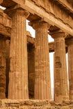 Ruiny świątynia Concordia, Valey świątynie, Agrigento, S Zdjęcia Royalty Free