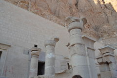 Ruiny świątynia Nefertari Egipt Fotografia Stock