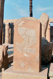 Ruiny świątynia w Egipt obraz royalty free