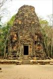 Ruiny świątynie w Siem Przeprowadzają żniwa w Kambodża Zdjęcie Stock