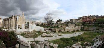 Ruiny Adriano ` s biblioteka obraz royalty free