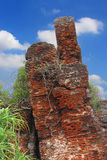 Ruiny Alamparai fort, tamil nadu Zdjęcia Stock