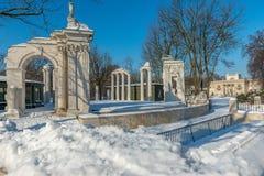 Ruiny amfiteatr w Warszawa Zdjęcie Royalty Free