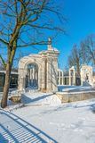 Ruiny amfiteatr w Warszawa Zdjęcia Royalty Free
