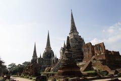 Ruiny antyczna świątynia w dziedzictwa miejscu Fotografia Royalty Free