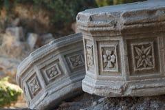Ruiny antyczna agora w Kosa miasteczku, Kos wyspa Obrazy Stock