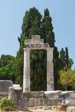 Ruiny antyczna agora w Kosa miasteczku, Kos wyspa Obraz Royalty Free