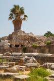 Ruiny antyczna agora w Kosa miasteczku, Kos wyspa Fotografia Royalty Free