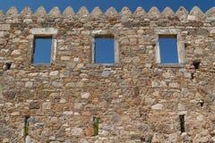 Ruiny antyczna agora w Kosa miasteczku, Kos wyspa Zdjęcia Stock
