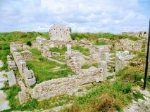 Ruiny antyczny dom Fotografia Royalty Free
