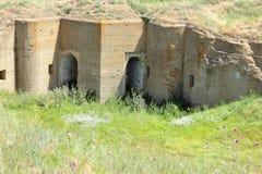 Ruiny antyczny forteca Obraz Royalty Free