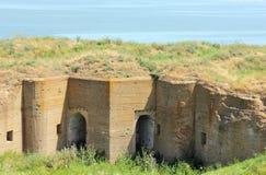 Ruiny antyczny forteca Fotografia Stock