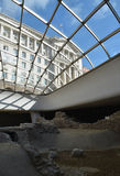 Ruiny antyczny forteczny Serdika Zdjęcie Royalty Free