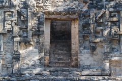Ruiny antyczny Majski miasto Chicanna obraz royalty free