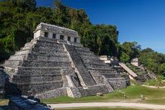 Ruiny antyczny Majski miasto Palenque obrazy stock