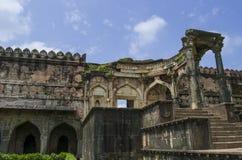 Ruiny Antyczny meczet zdjęcia stock