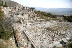 Ruiny antyczny miasto Fotografia Royalty Free