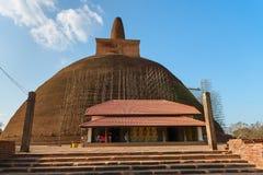 Ruiny antyczny miasto Anuradhapura, Sri Lanka Obraz Stock