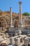 Ruiny antyczny miasto Ephesus starożytnego grka miasto w Turcja, zdjęcia stock
