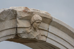 Ruiny antyczny miasto Smyrna, Izmir Fotografia Stock