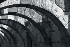 Ruiny Antyczny miasto Smyrna Izmir, Turcja Obrazy Stock
