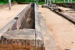 Ruiny antyczny monaster, Anuradhapura, Sri Lanka Zdjęcia Stock