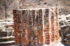 Ruiny antyczny Pompeii Włochy Fotografia Royalty Free