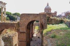 Ruiny antyczny Rzym Zdjęcie Stock