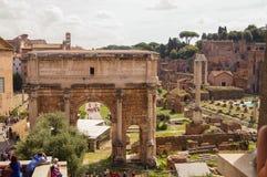 Ruiny antyczny Rzym Obraz Stock