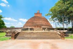 Ruiny Anuradhapura, Sri Lanka Obraz Stock