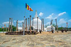 Ruiny Anuradhapura, Sri Lanka Zdjęcia Stock