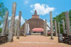 Ruiny Anuradhapura, Sri Lanka Zdjęcia Royalty Free