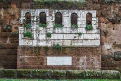 Ruiny żałobny zabytek Obraz Royalty Free
