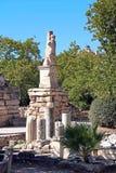 Ruiny Ateny agora, Grecja Obraz Royalty Free