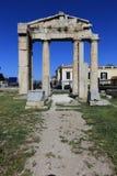 Ruiny Ateny, Antyczna agora, Grecja Zdjęcie Stock