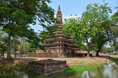 Ruiny Ayutthaya Dziejowy Parkowy Tajlandia Zdjęcia Stock