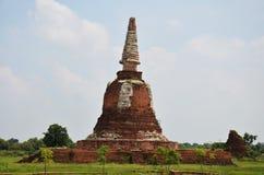 Ruiny Ayutthaya Dziejowy Parkowy Tajlandia Zdjęcia Royalty Free