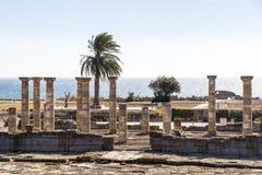 Ruiny Baelo Claudia, Bolonia, Hiszpania fotografia stock