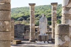 Ruiny Baelo Claudia, Bolonia, Hiszpania zdjęcie royalty free