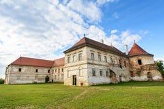 Ruiny Banffy Roszują od Bontida wioski, blisko Cluj Napoca, Transylvania, Rumunia Fotografia Royalty Free