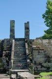 Ruiny bramy ratu boko pałac inside kompleks Zdjęcie Stock