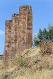 Ruiny ściana w Ahlat Fotografia Royalty Free