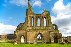 Ruiny Cysterski monaster Fotografia Stock