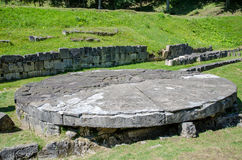 Ruiny Dacian forteczny Sarmisegetusa Regia Zdjęcie Stock