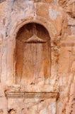 Ruiny dedykować niecka świątynia fotografia royalty free