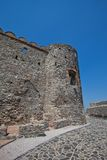 Ruiny Devin kasztel. Bratislava, Sistani Fotografia Stock