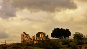 ruiny dom Zdjęcia Stock