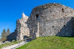 Ruiny Eisenberg kasztel Obrazy Royalty Free