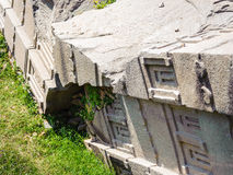 Ruiny Etiopia Aksum, (Axum) Obraz Stock